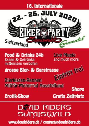 deadriders bikerparty